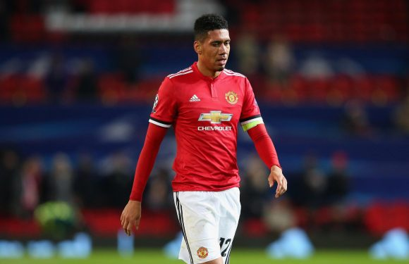 Manchester United ace Chris Smalling wanted by Everton boss Sam Allardyce in £25m deal this summer