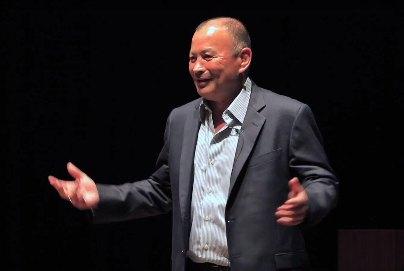 England coach Eddie Jones has an acid tongue and just doesn't know when to zip it