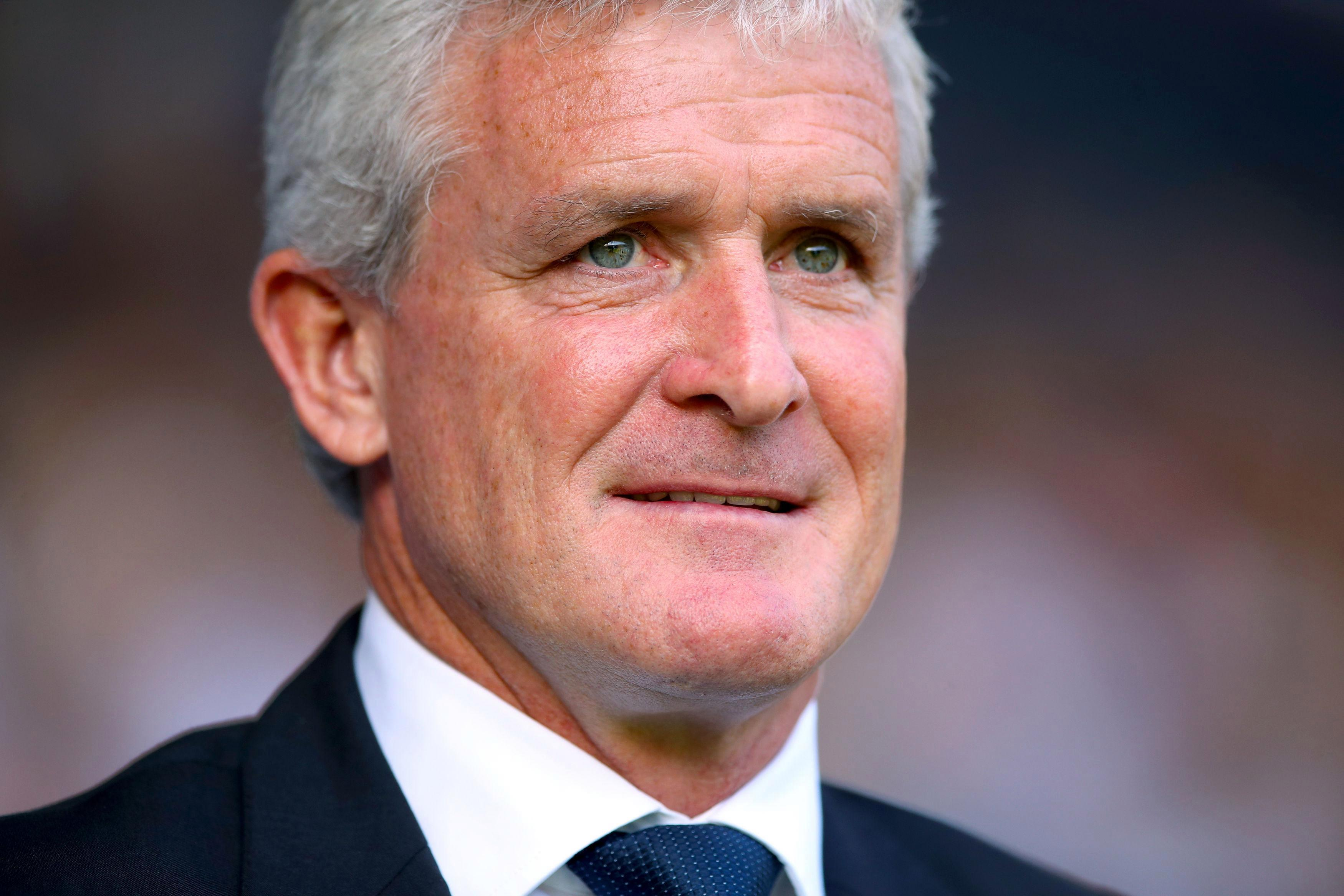 Mark Hughes says he is confident Southampton will beat the drop after meeting his new team