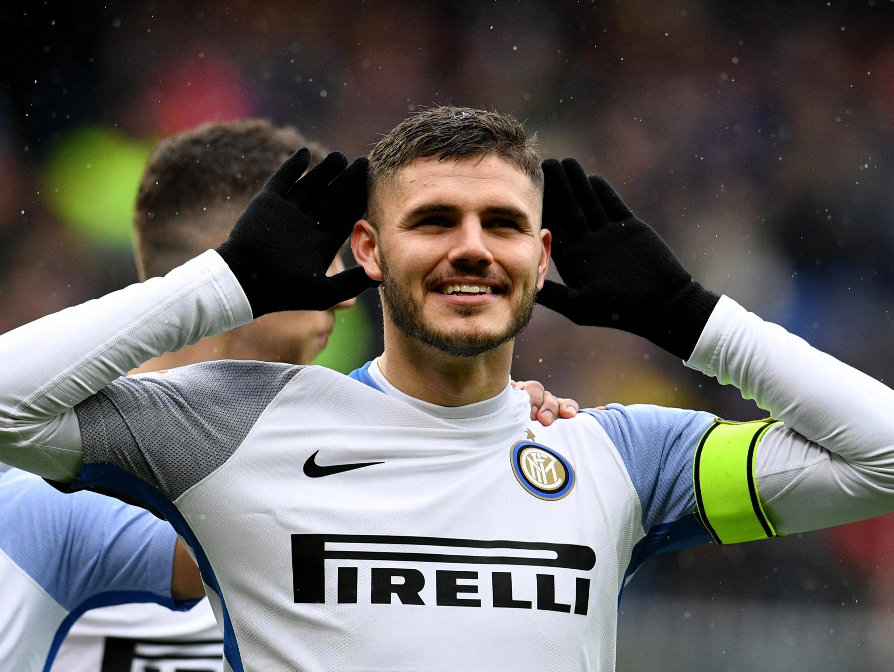 Inter Milan in talks with Real Madrid target Mauro Icardi over contract extension until 2023 — with £96million release clause to be 'significantly increased'