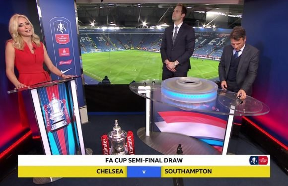 Chelsea's Southampton FA Cup semi-final draw questioned by fans who claim Petr Cech and Gianfranco Zola helped side avoid Manchester United and Tottenham