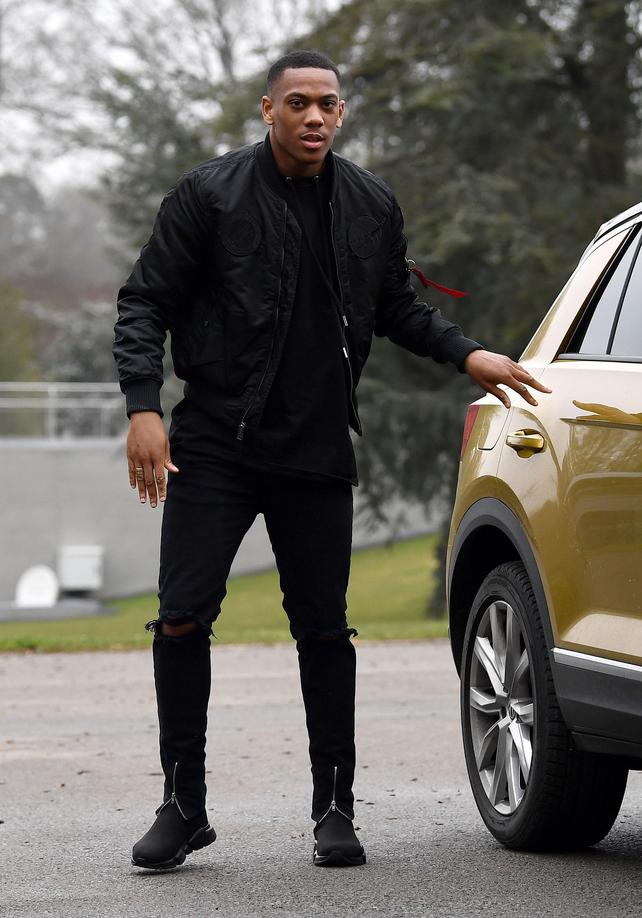 Manchester United star Anthony Martial's agent refuses to commit player's future to club amid Arsenal interest