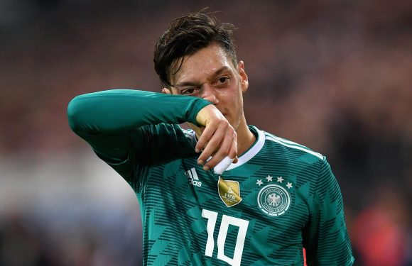 Mesut Ozil returns to Arsenal after pulling out of Germany squad… missing Brazil match