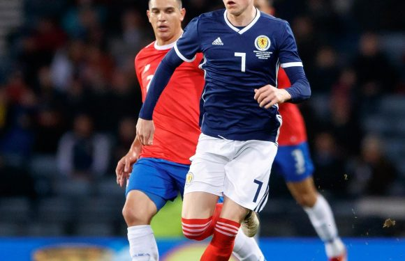 Scott McTominay withdraws from Scotland squad after making debut against Costa Rica last week