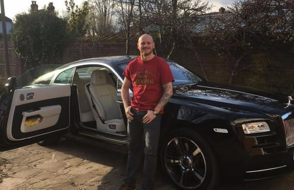 George Groves reveals luxury £250,000 Rolls Royce to celebrate 30th birthday