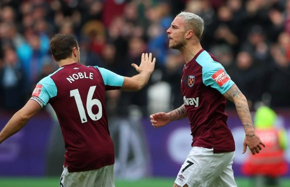 Marko Arnautovic taunts Mark Hughes as Southampton boss suffers shocking start at West Ham