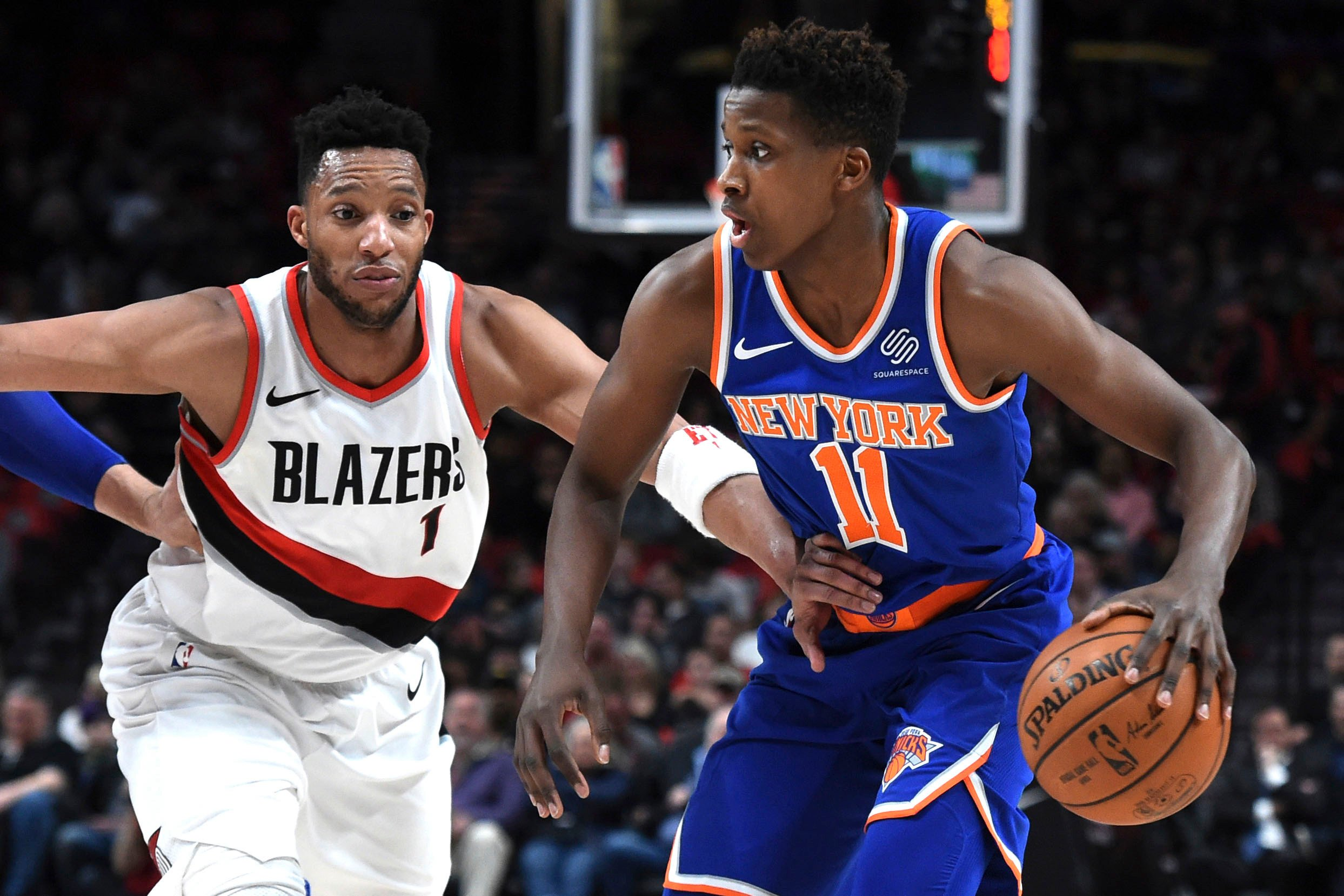 Frank Ntilikina struggles in first start as Knicks get routed
