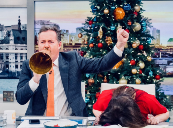 Piers Morgan signs new two year deal to stay on Good Morning Britain