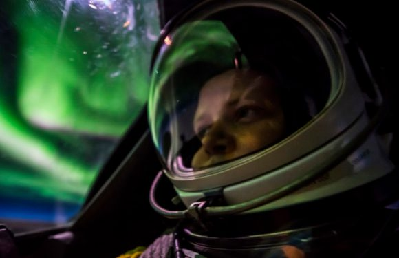 Air Force pilot snaps amazing up-close pics of northern lights