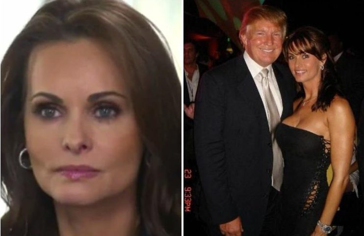 Playboy model Karen McDougal makes emotional apology to Melania over alleged affair with Donald Trump as she claims he tried to PAY her for sex
