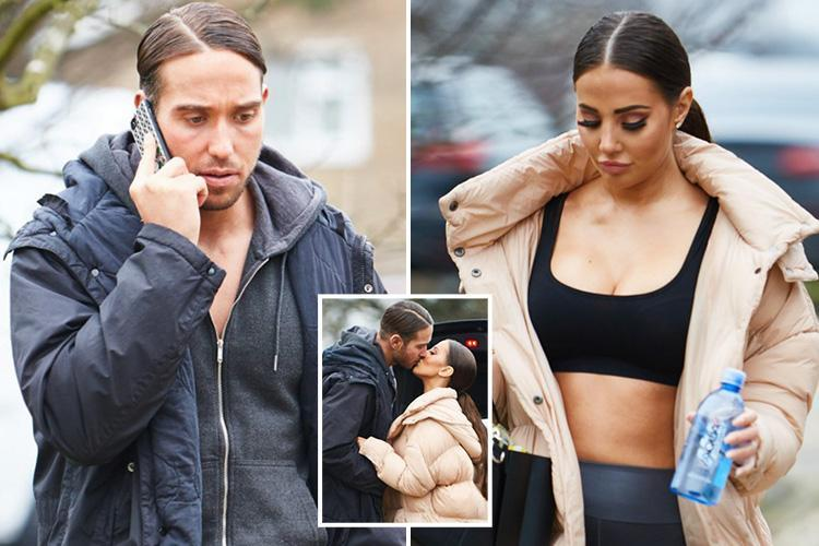 Towie's James Lock unveils new slicked back hairdo just like his girlfriend Yazmin Oukhellou's after ear surgery