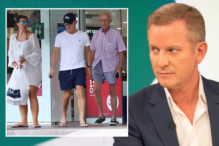 Jeremy Kyle reveals his 84 year old father has found love with a new girlfriend one year after losing his wife