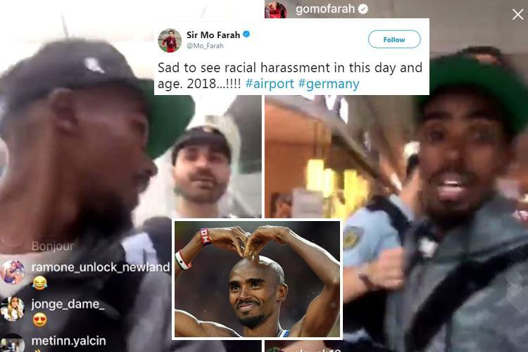 German cops hit back at Sir Mo Farah's claims he was racially harassed by Munich airport security – and say HE shouldn't have been filming