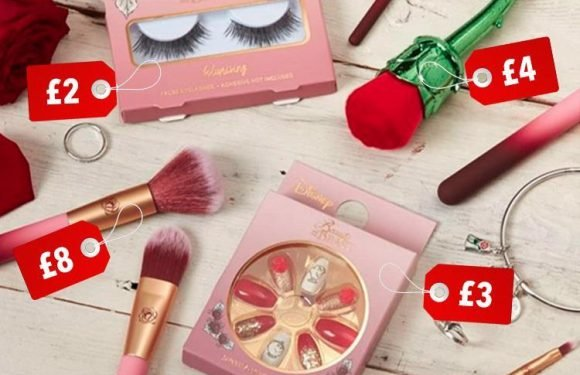 Disney fans are going wild for Primark's new Beauty And The Beast make-up range… and prices start at £1.50