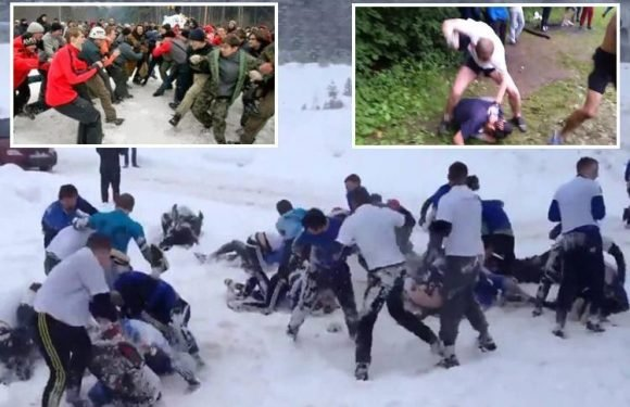 Russian football hooligans boast brawling with England is 'in their blood' thanks to centuries old forest fighting tradition