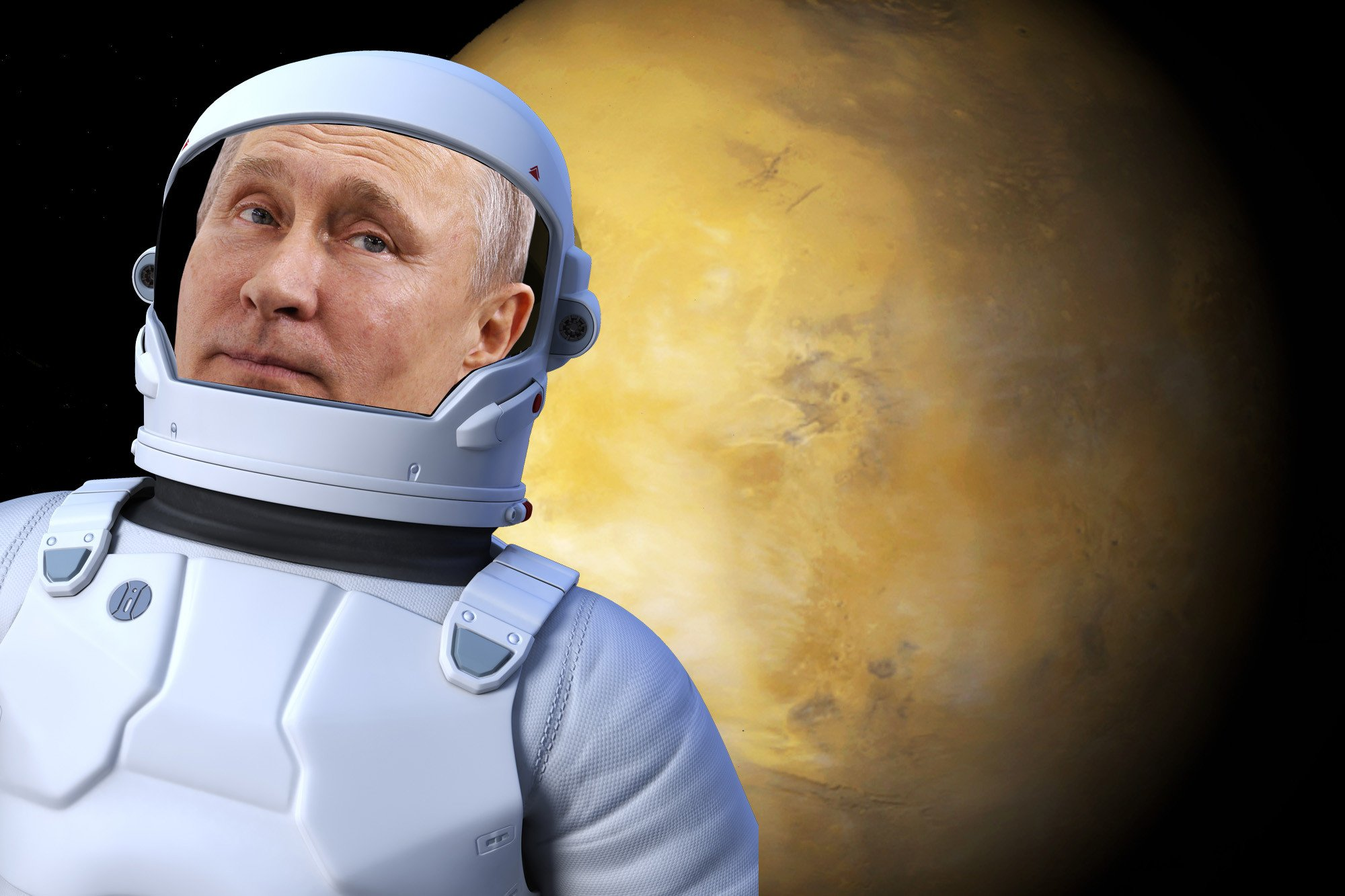 Putin wants to beat the US to Mars
