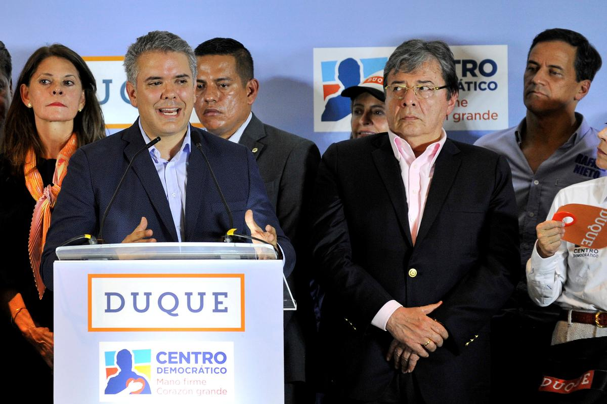 Colombia peso rallies after Duque's strong results in presidential…