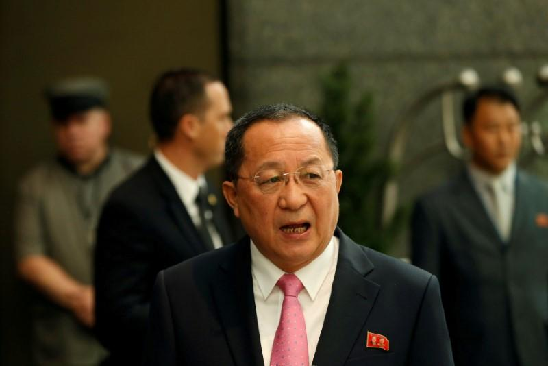 North Korean foreign minister to visit Sweden on Thursday