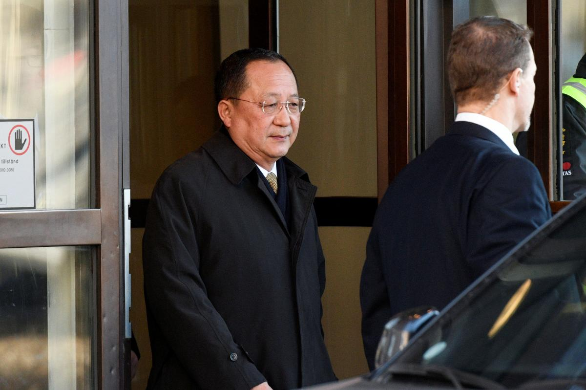 North Korean foreign minister visits Sweden amid summit speculation