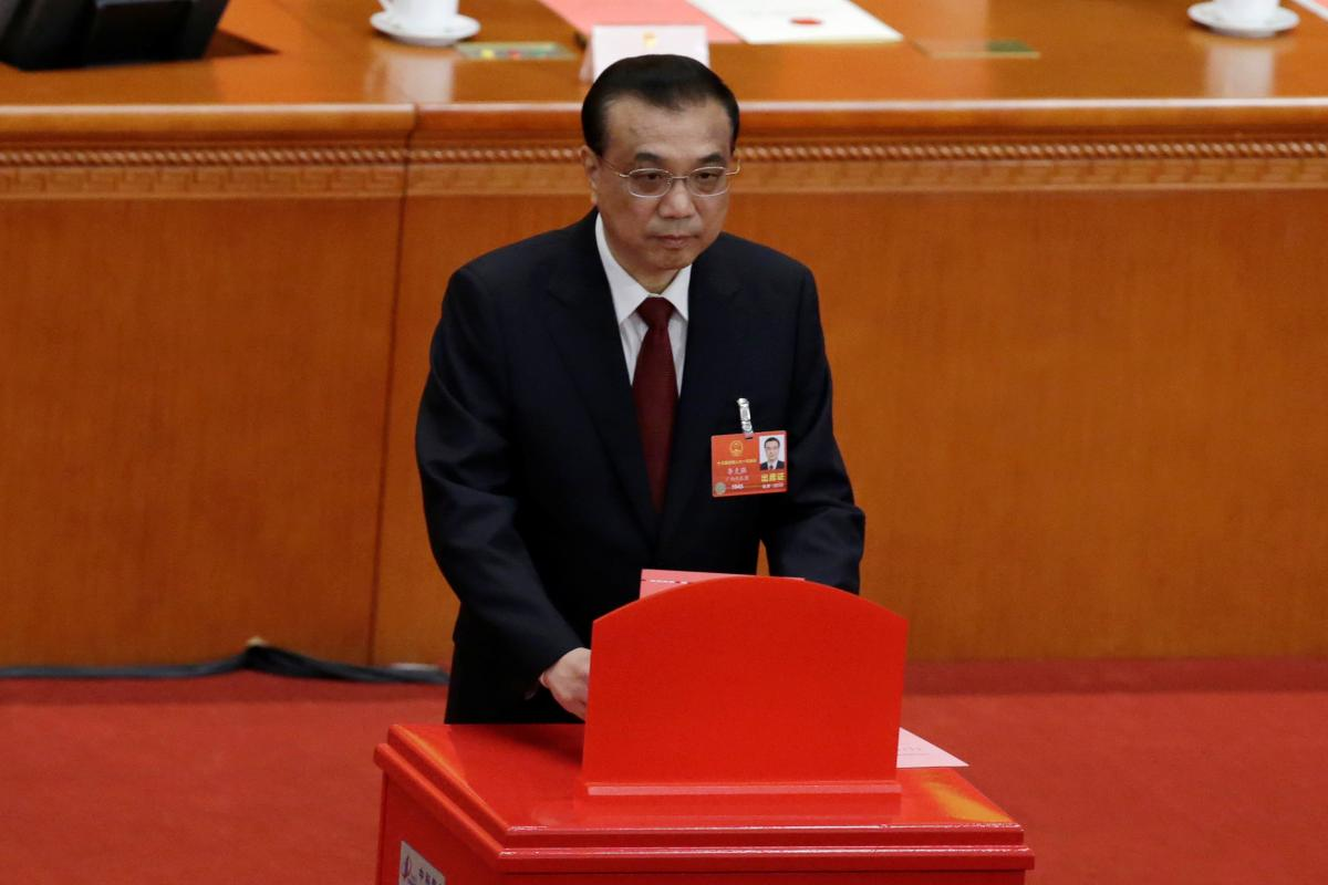 China's Premier Li re-elected by parliament to premiership