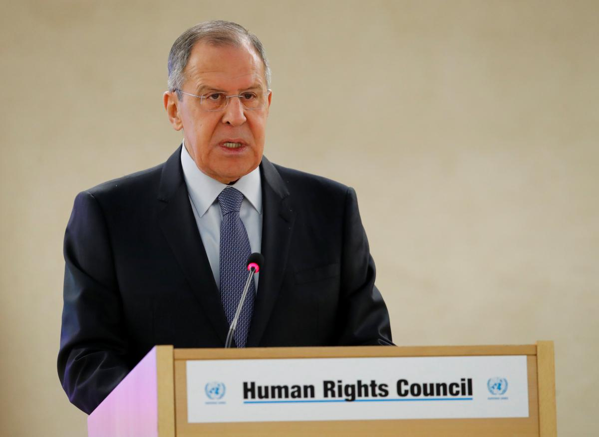 Lavrov says rebels blocking aid and evacuations in Syria's Ghouta