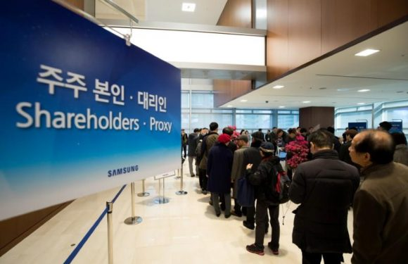 Trade fears loom as Samsung Electronics shareholders approve stock…