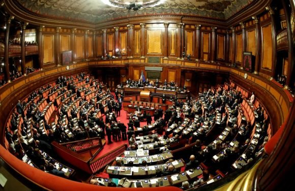 Italy's parliament meets for first time in deadlock