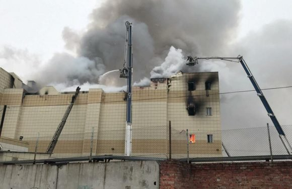 Number of dead in shopping mall fire in Siberia rises to 37: agencies