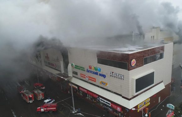 Death toll in Russia shopping mall fire rises to 48
