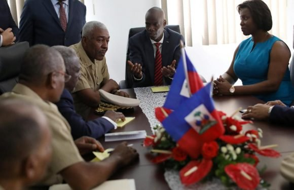 Haiti installs new high command for planned 5,000-strong army