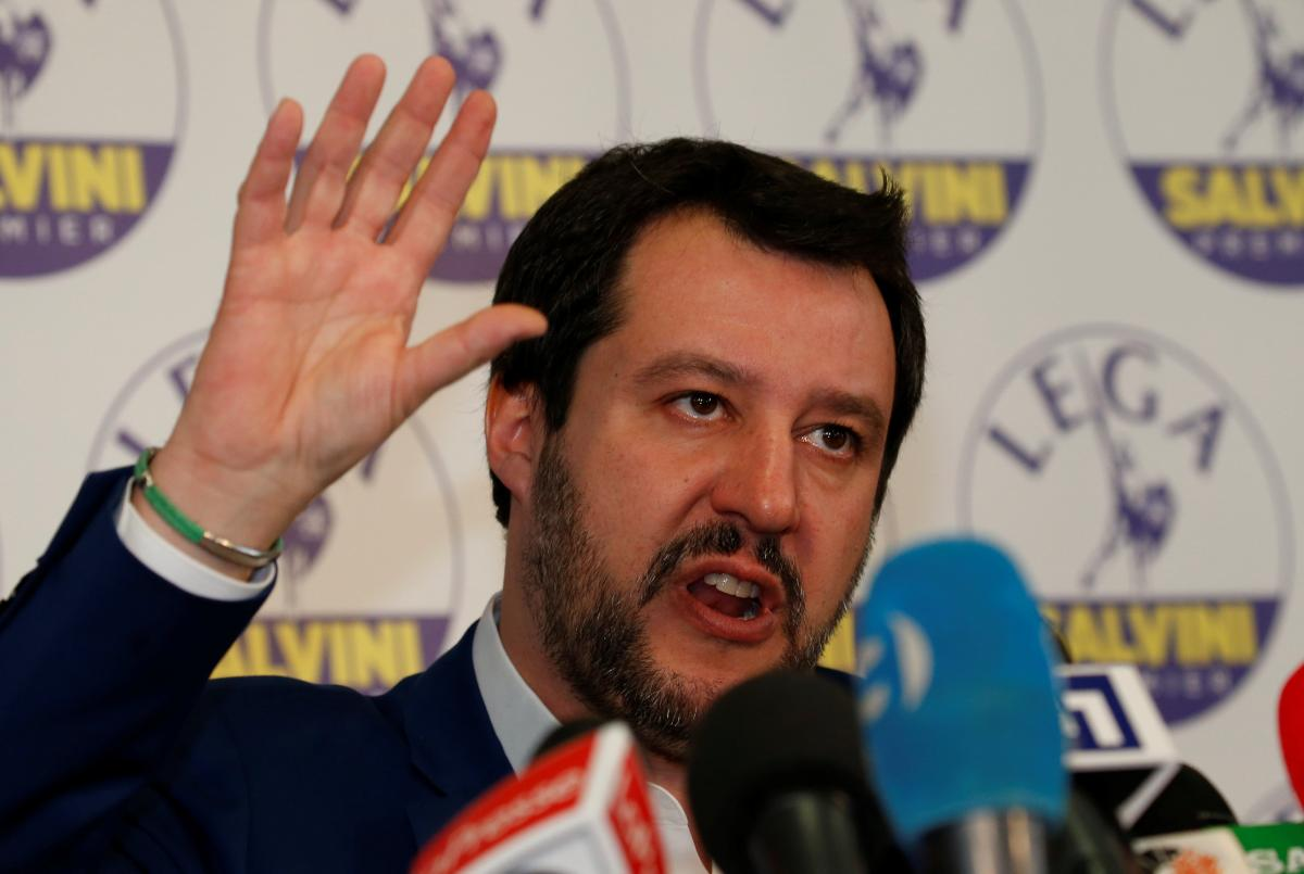 Italy's League chief says is only possible PM candidate for…