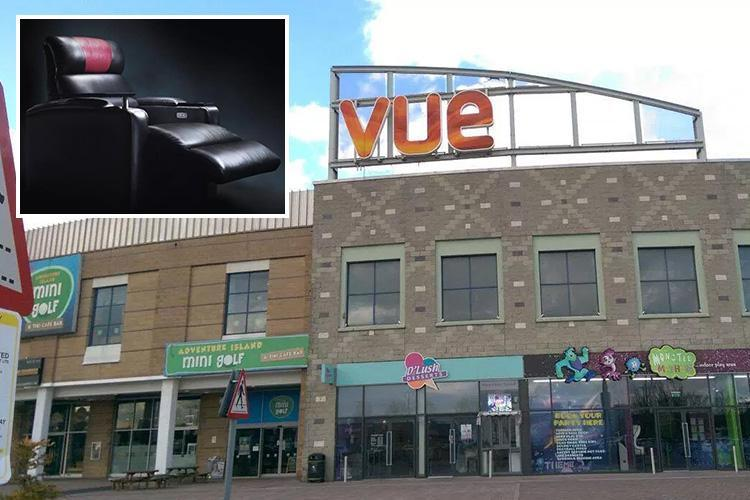 Electric seats at Vue cinema closed after young dad died when he got his head stuck in footrest