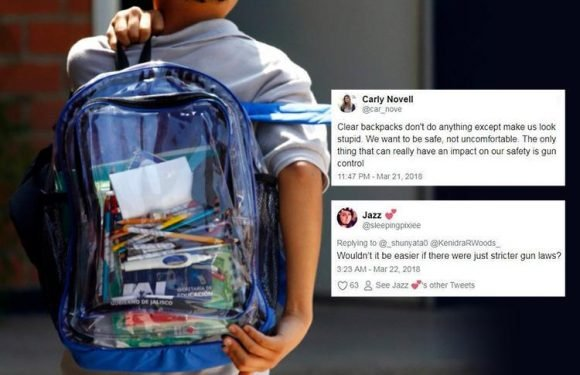 Florida school shooting pupils are only allowed to use CLEAR backpacks to 'prevent another massacre'