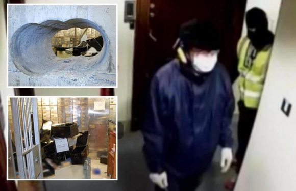 Have cops caught Basil? Detectives hunting mystery Hatton Garden suspect arrest 57-year-old man