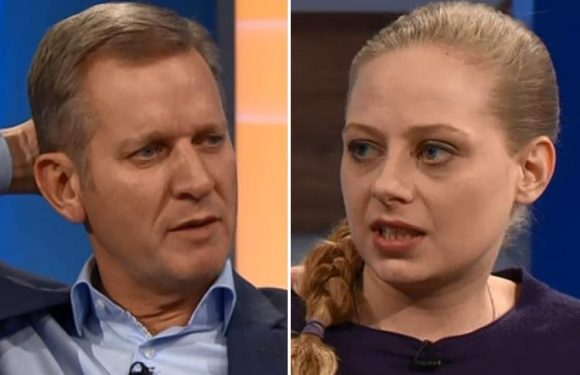 Jeremy Kyle viewers accuse him of 'flirting' with pretty blonde guest
