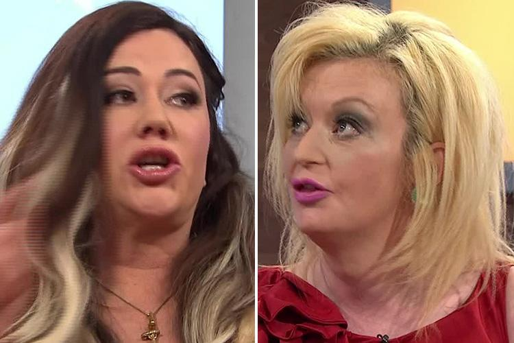 Lisa Appleton gets into a heated row with Lauren Harries on Jeremy Kyle Show and reveals she called the police in a fight over a SALAD