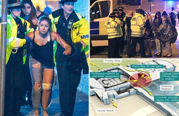 Fire crews 'kept away' from Manchester bombing for TWO HOURS after being 'left out of the loop'