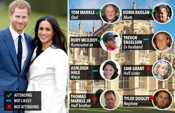 Meghan Markle's nephew in royal wedding snub – so who IS going and who didn't make the cut?