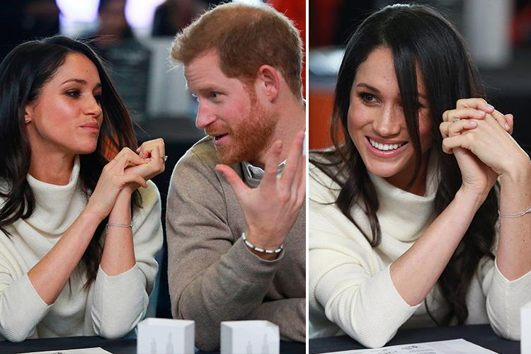 This is what Meghan Markle's guarded hand gestures say about her upcoming wedding, according to body language expert