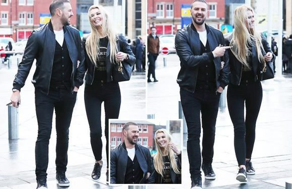 Paddy McGuinness and wife Christine look loved up and happy on day out in Manchester as they move on from Nicole Appleton drama