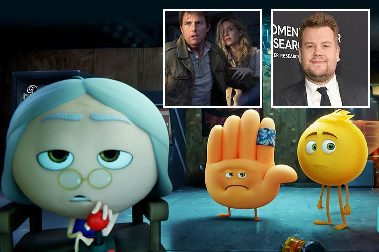 James Corden's Emoji Movie wins Worst Film as Tom Cruise gets a roasting at the 2018 Razzie Awards
