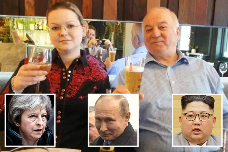 Wild spy poisoning conspiracy theories explode in Russia with Putin's supporters blaming everyone from Kim Jong-un to Theresa May