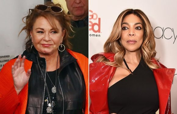 Roseanne Barr shades Wendy Williams over husband