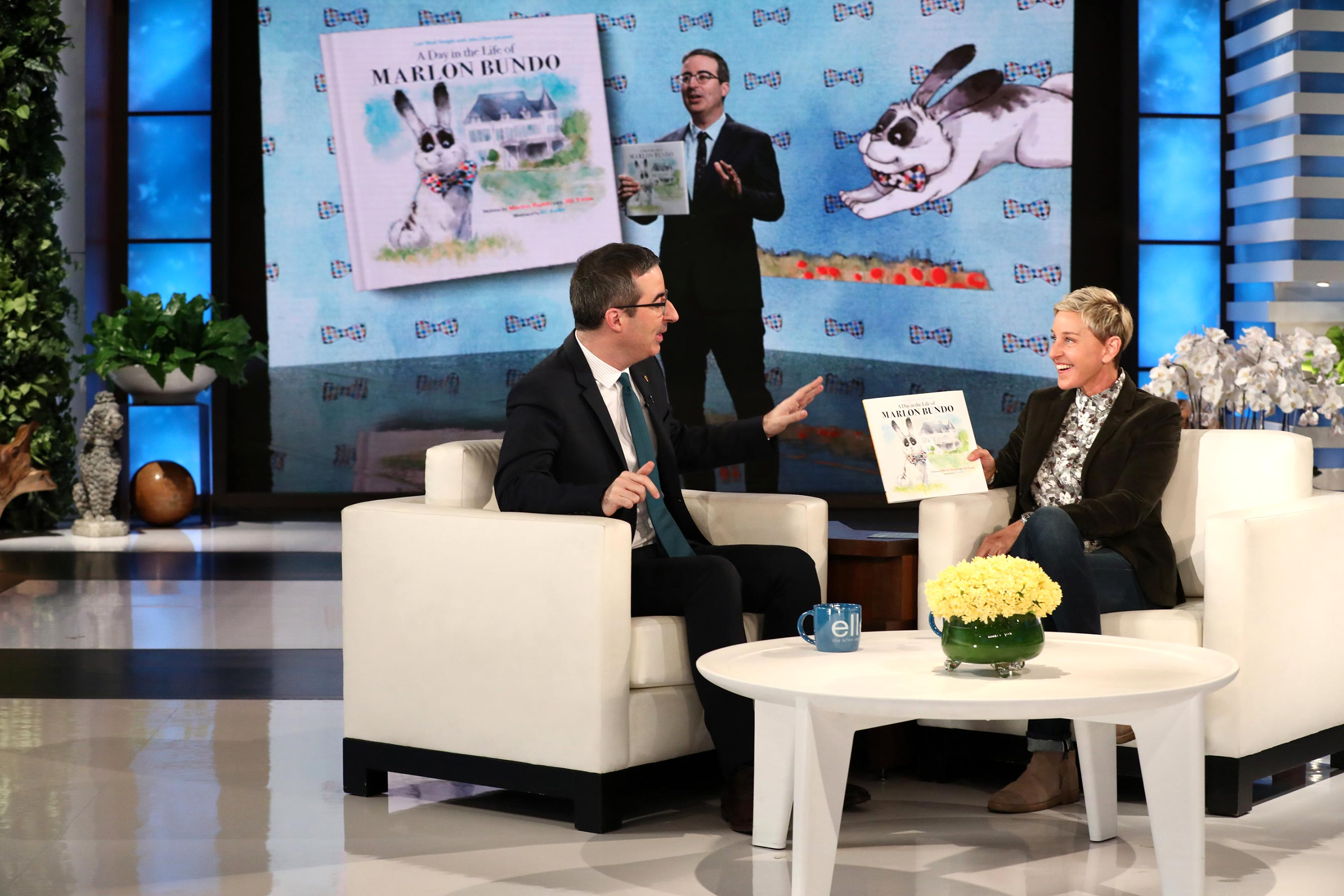 John Oliver's Marlon Bundo book trolling Mike Pence sells out, gets second printing
