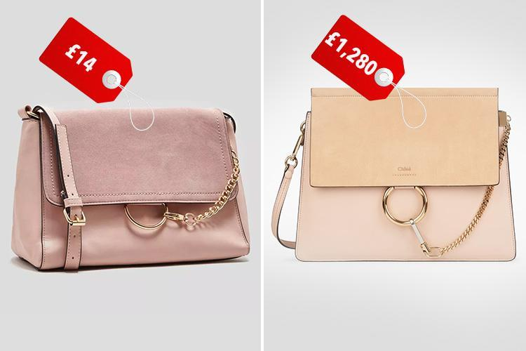 Matalan is selling a £14 version of this £1,280 Chloé bag… and it's virtually identical