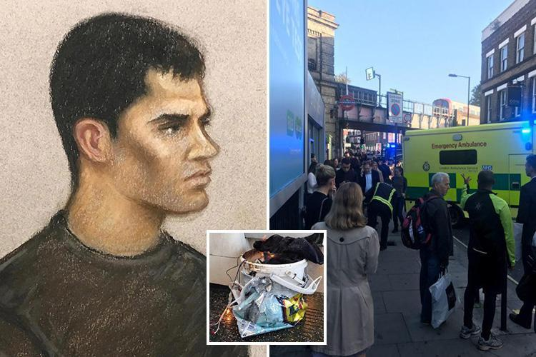 Parsons Green Amazon 'bucket bomber' says he was 'trained to kill by ISIS' before 'unleashing Tube nail bomb'