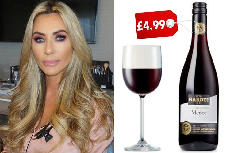 Real Housewife of Cheshire Dawn Ward may be a WAG but she can't resist this £4.99 wine from Aldi… even though it's making her pile on the pounds
