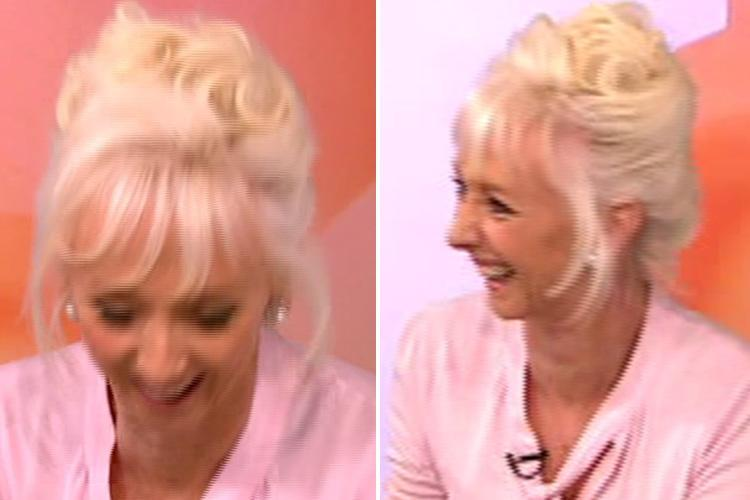 Debbie McGee makes VERY racy joke about her stop cock as she discusses being attracted to 'good-looking' Giovanni's brain
