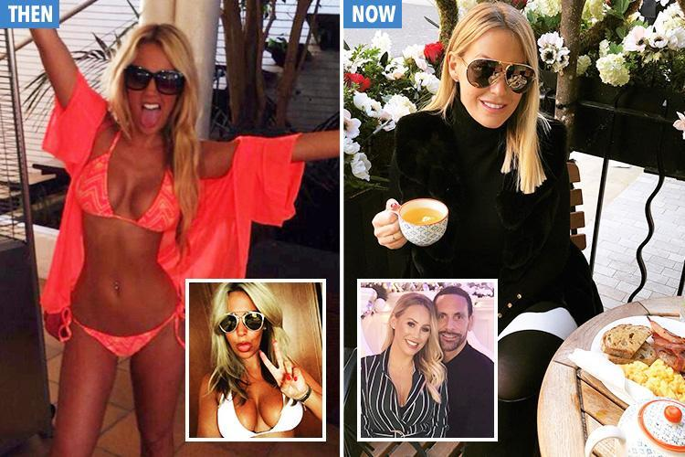 Kate Wright's incredible transformation from Towie babe to top WAG