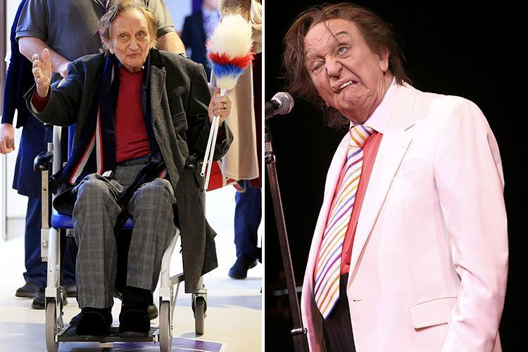Ken Dodd, 90, cancels ALL work commitments over health fears